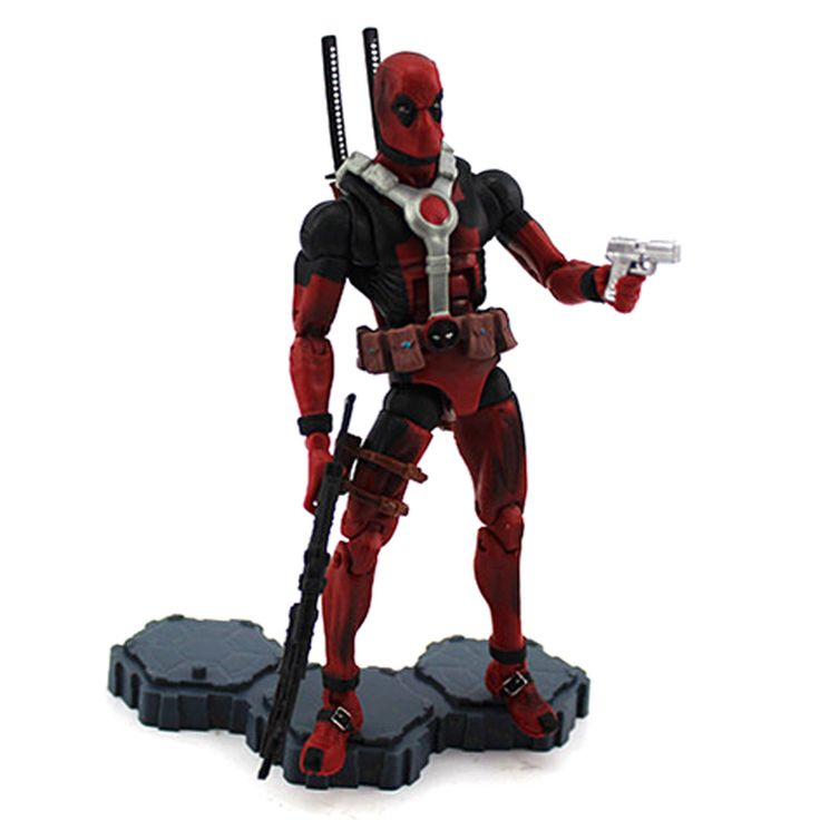 Deadpool Action Figure Marvel Comics Collectible 6 Inches //Price: $18.2 & FREE Shipping //     #marvel