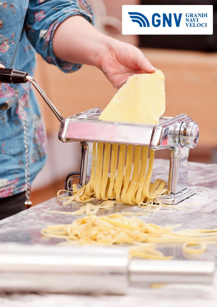 #Chef making #pasta, one of the most important #Italian #foods.  Discover #GNV routes in our website:www.gnv.it/en/