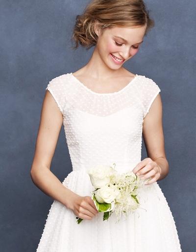 Jolie cette robe plumetis - www.fairepart.fr aime !
