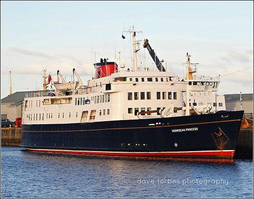 Scottish Cruise Ship HEBRIDEAN PRINCESS ©