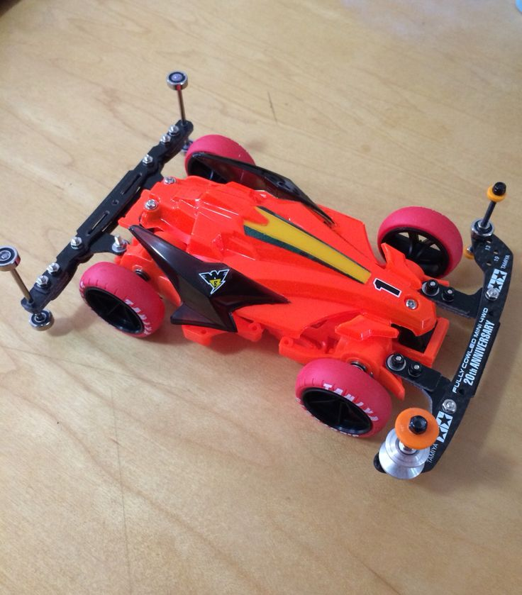 Tamiya mini 4wd avante mkiii yellow special for super speed