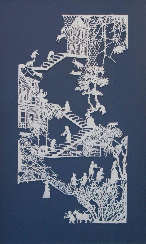 Kağıt Kesme Sanatı Örnekleri