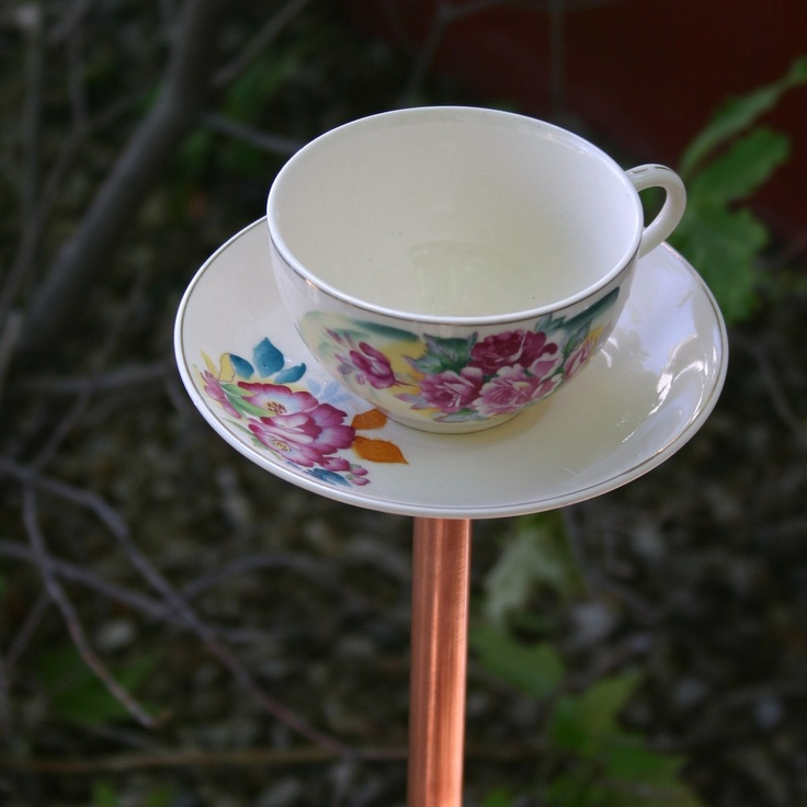 projects idea unique tea cups. Up Cycled Tea Cup Bird Feeder  9 50 via Etsy 31 best Feeders images on Pinterest feeders