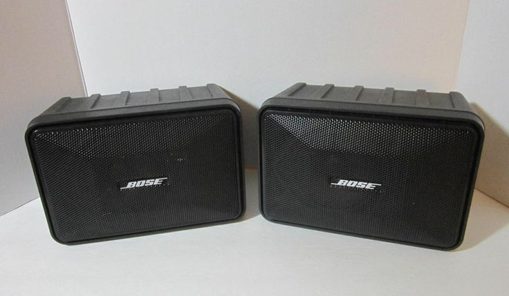 bose garden speakers. pair bose model 101 music monitor indoor outdoor speakers color black | for sale on ebay @ washashorepicker pinterest bose, stereo and bose garden e