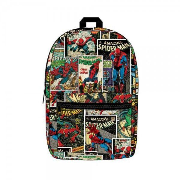 Marvel Amazing Spiderman Sublimated Backpack Book School Bag NEW Licensed