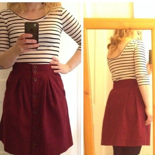 #mmmay16 An Agnette and Kelly skirt today @tillybuttons #sewingagnes @closetcasefiles #nettebodysuit @megannielsenpatterns #kellyskirt by sewmarylou