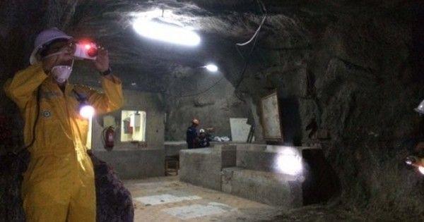 Sensasi restoran 'mewah' bawah tanah milik para penambang emas