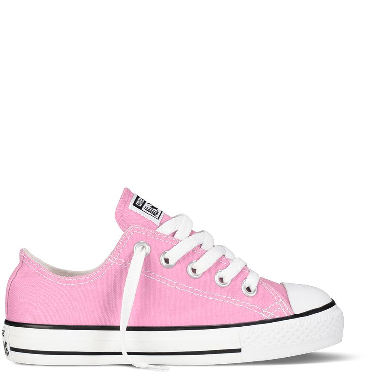 Converse - Girls' CT AS Classic Low Canvas Sneaker (Little Kid) - Pink