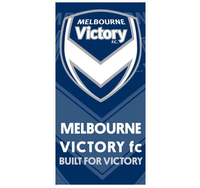 Hyundai A-League Melbourne Victory FC 75x150cm Beach Towel