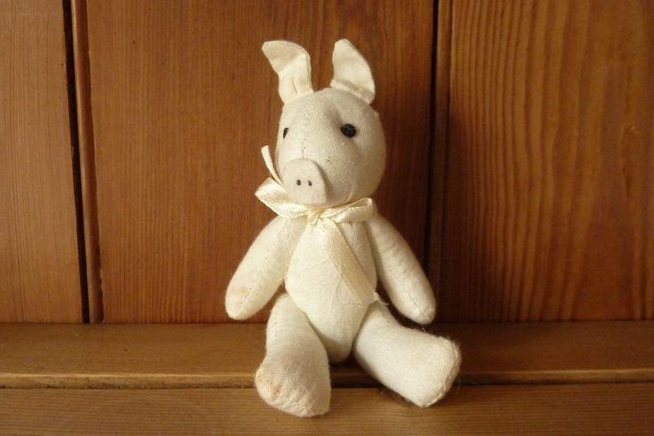 Vintage Little Toy Pig
