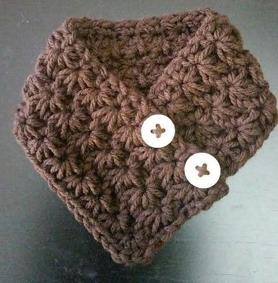 Bonneterie petit chien foulard de chiot s'adapte par QuiltNCrochet
