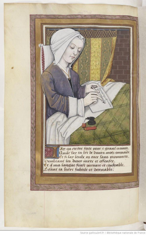 Ovide , Héroïdes ou Epîtres , traduction d' Octavien de Saint-Gelais. Commande de Louise de Savoie , 1497