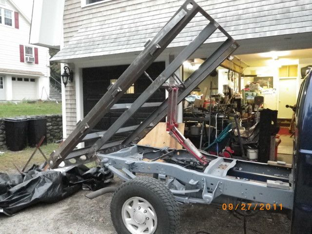 Pickup Truck Dump Hoist Kit