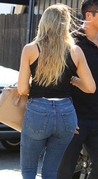 HUSK DETTE: Hvordan lommene er plassert på buksa di har mye å si for hvordan rumpa ser ut. - Lommer som står langt fra hverandre gir en forstørrende effekt. Baklommer som sitter tett sammen har derimot en smalende effekt, sier stylist Vibeke Stiansen.