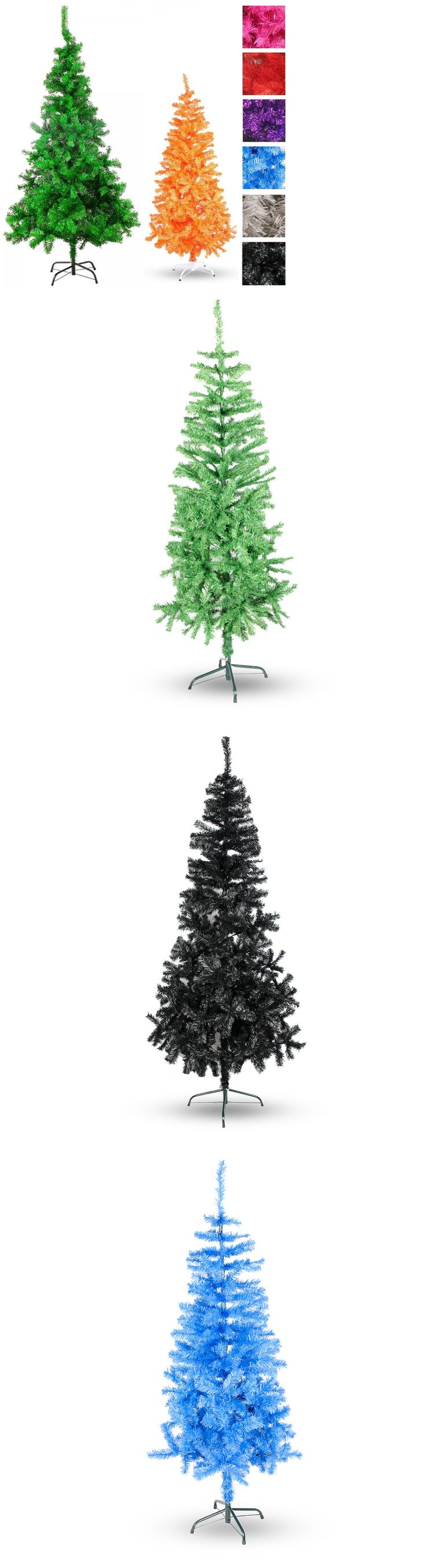 Artificial Christmas Trees 117414: 2Ft - 9Ft Pvc Artificial Christmas Tree Unlit Multiple Colors Sizes Xs S M L Xl -> BUY IT NOW ONLY: $65 on eBay!