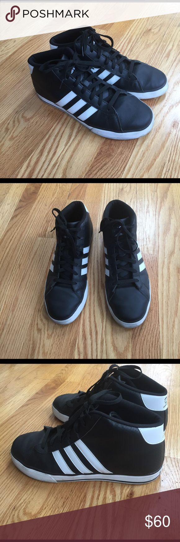 Men's Neo Adidas sneakers size 10 Good condition men's Adidas sneakers. Worn a handful of times. Size 10. Ortholite comfort foam inside. Adidas Shoes Sneakers