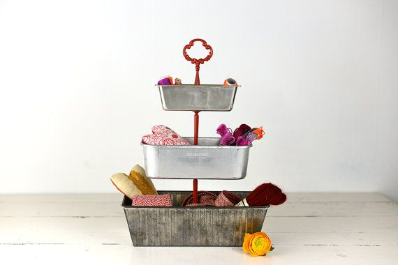 Cake Stand or Walnut Chestnut Stand 3 tier made by PinkMountains, €34.00