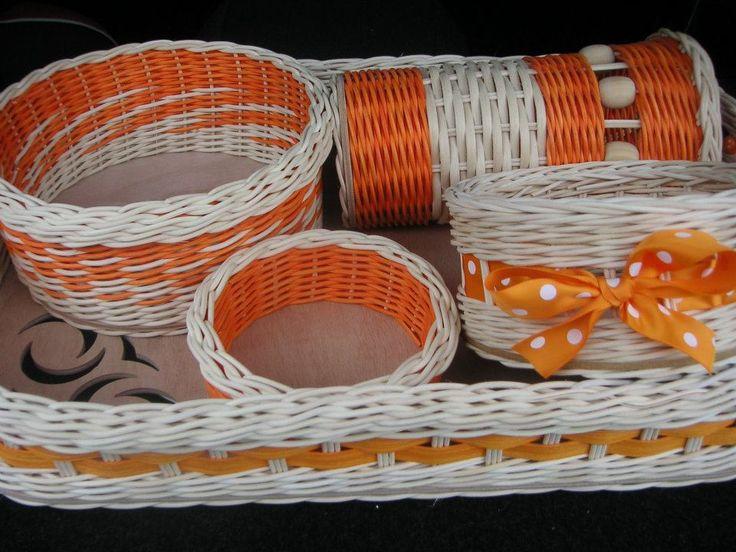 oranžový set