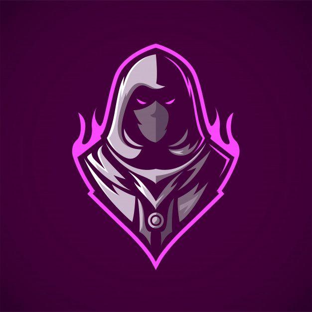 Ninja Assassin Mascot Logo Game Logo Design Logo Design Art Ninja Logo
