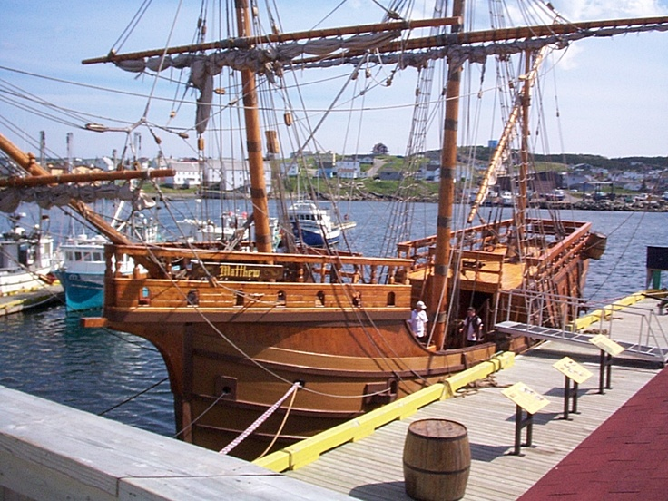 The Mathew in Bonavista, Newfoundland