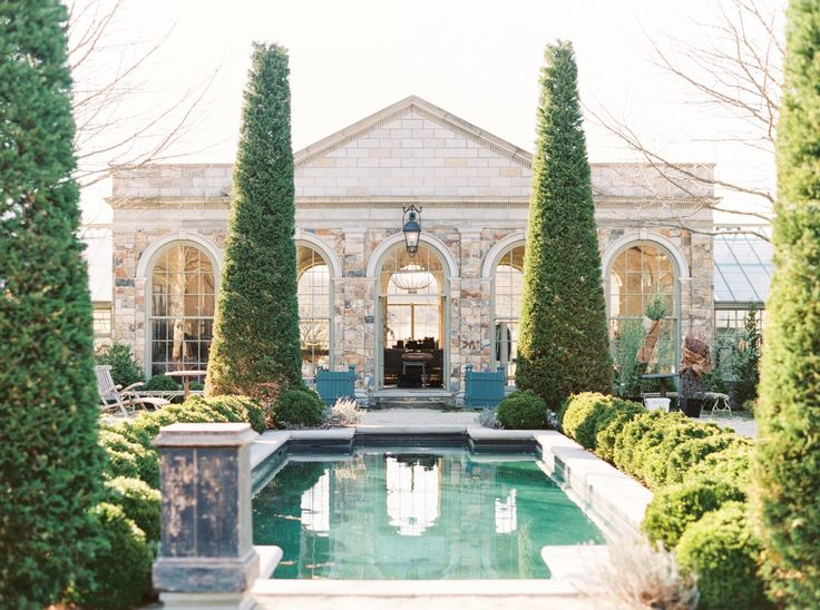 Jardin Du Buis, New Jersey Greenhouse European Estate Wedding Venue - Lauren Fair Photography Film Wedding Photos_0001