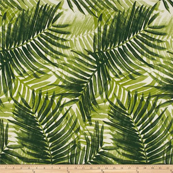Tommy Bahama intérieur/extérieur échappatoire Jade draperie un panneau de Rideau - fait sur commande pour commande de rideaux de qualité résistant aux intempéries preuve