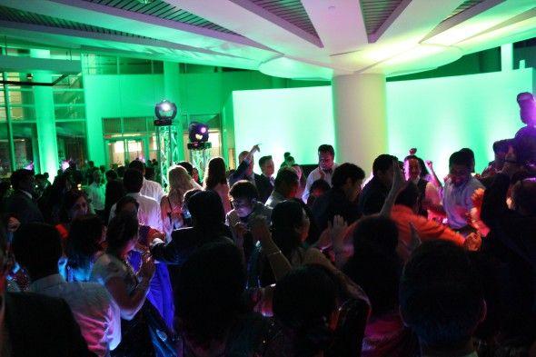 LED Dance Floor from Chicago Wedding Lighting