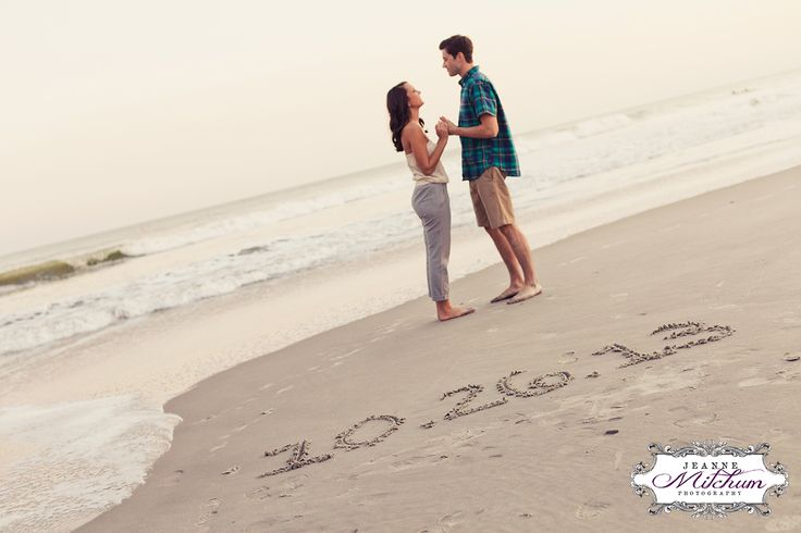Engagement session   Beach save the date   charleston photographer