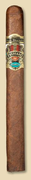 Aficionado ranked the Alec Bradely Prensado Churchill the best cigar of 2011.