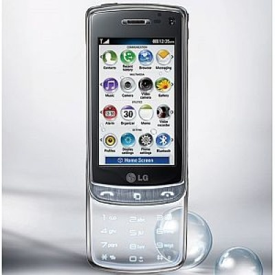 Back in stock; the LG GD900 Crystal with transparent touchpad, just $159