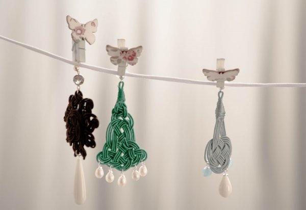 Soleil, Alba and Saturno earrings