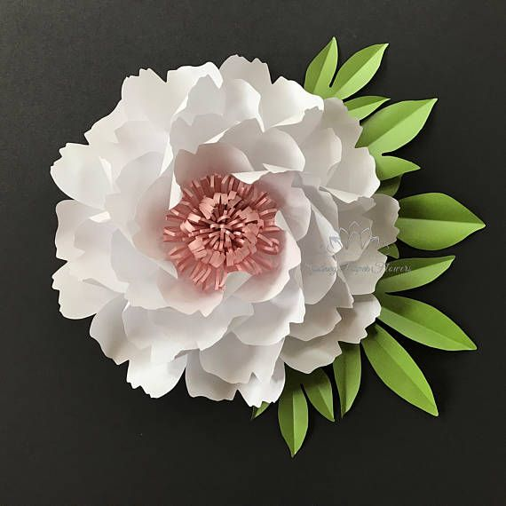 Paper flower PEONY (big size) Make a unique Easter or Mothers Day gift to you loved ones! Just hang on the wall as a regular picture frame (3M removable hook will be included) or use blue tack. This listing is for ONE flower only. See other pictures for the colour refference.