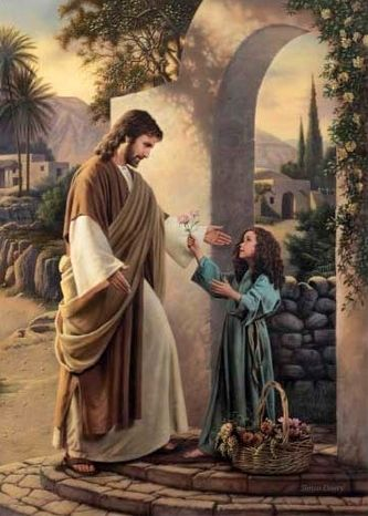 Simon Dewey (1962, English)...LDS Artist Pictures of Christ