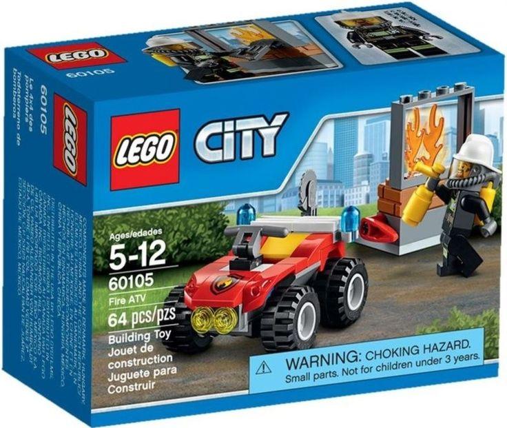 Lego CITY 60105 Hasičský terénní vůz - 0