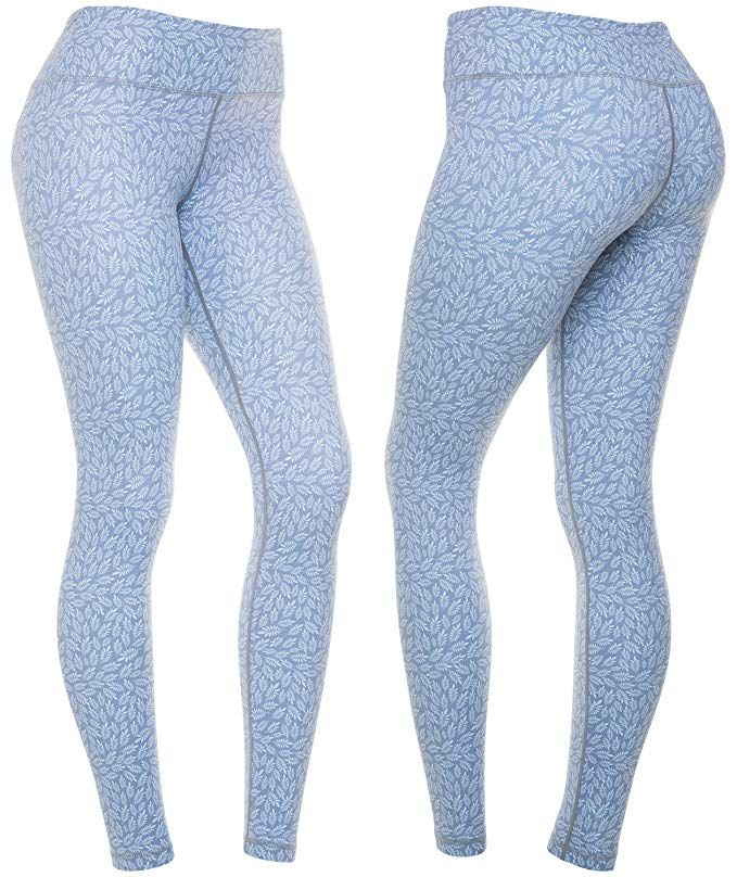 7770bd8dc2 Amazon.com : CompressionZ Women's Compression Pants Best Full Leggings  Tights for Running, Yoga