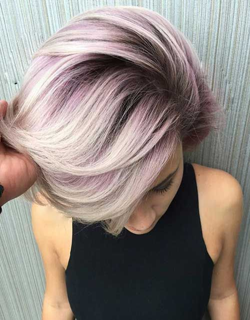 cool 25 Color For Short Hair //  #Color #Hair #Short