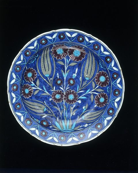 Dish      Place of origin:      Iznik, Turkey (made)     Date:      ca. 1550-55 (made)     Artist/Maker:      Unknown (production)...