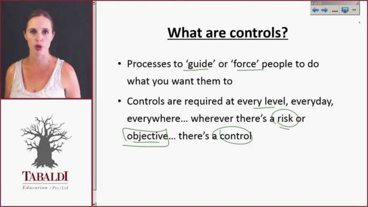 AUE2602-Topic 1- What are internal controls