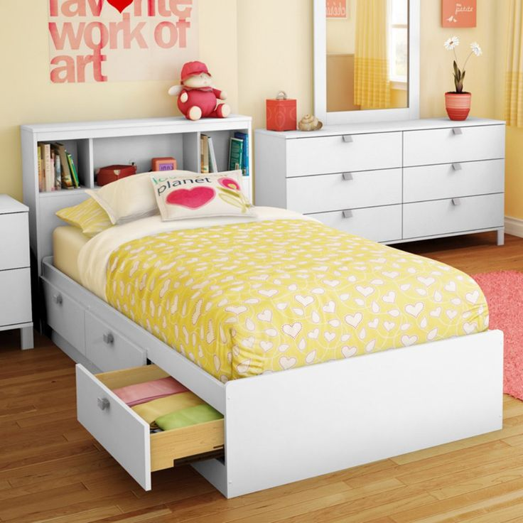 Best 25 kids storage beds ideas on pinterest kids bed - Bedroom furniture bookcase headboard ...