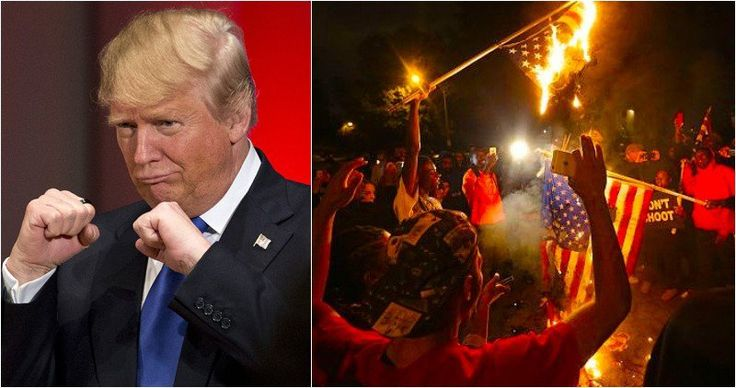 BOOM! Trump Threatens Liberals Burning American Flags With 7 EPIC Words