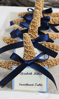 Ideas and decorations for Little Mermaid themed wedding, ceremony, and reception.
