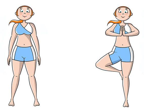 Posizioni yoga per principianti: 4 semplici esercizi di yoga che puoi rifare a casa da solo con calma e sentirai i benefici!