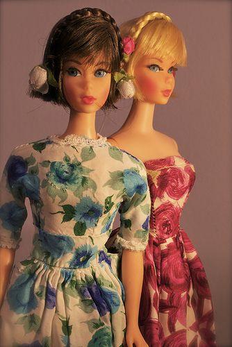 Barbie - Hair Fair Barbies I loved the braided headbands!! ♥ #barbie