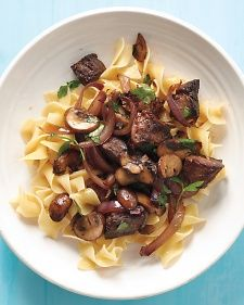 Beef Stroganoff Stir-Fry; adding ingredients to my shopping list for this one as we type.