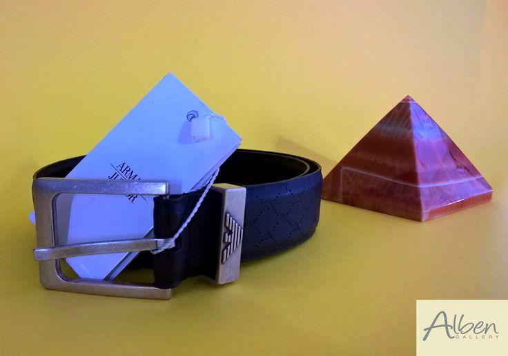 MODA BIMBI: Cintura marrone bambino ARMANI - Alben Gallery #albengallery #moda #modabimbi #accessori TAGLIA: 10/12 ANNI Per info 3335642648