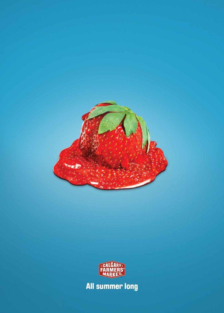Calgary Farmers' Market: Strawberry