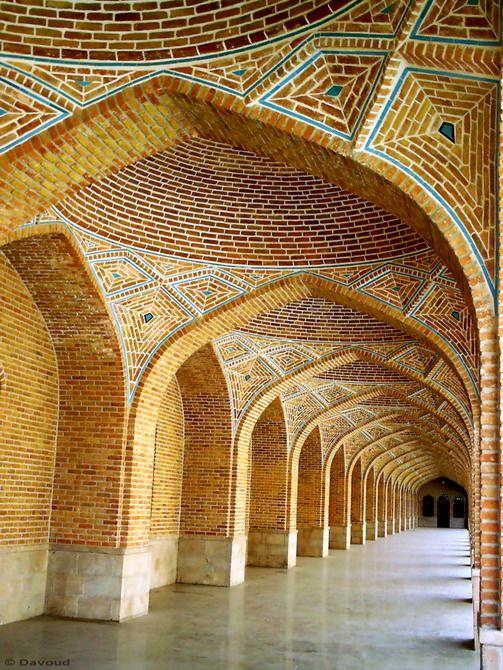 Blue Mosque 1 - Tabriz, Azarbayjan-e Khavari