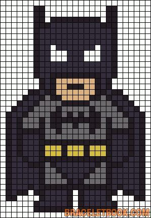 Batman Crochet patwork pattern.