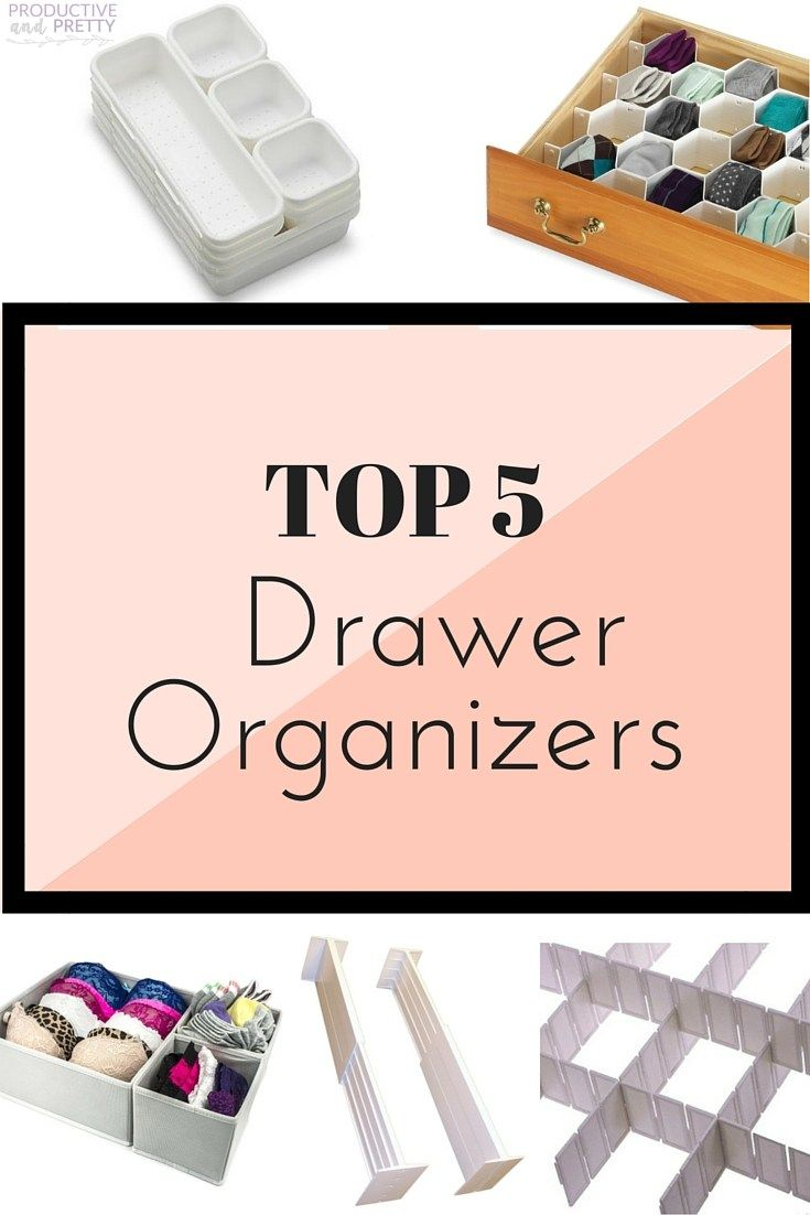 Looking for drawer organizers or dividers? Look no further! here are my top 5 picks!