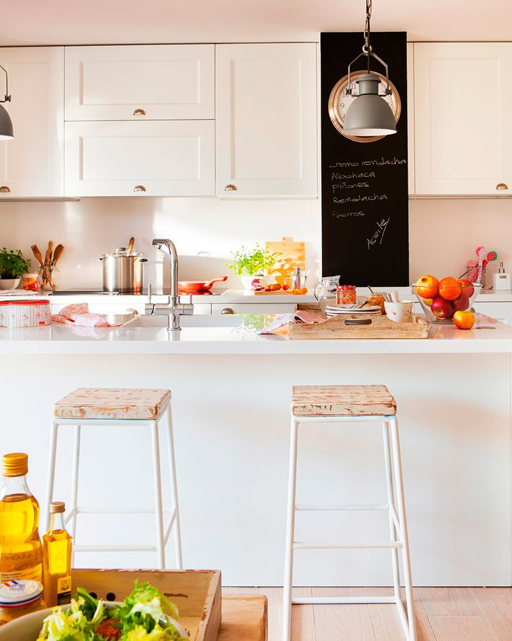 M s de 25 ideas incre bles sobre paredes de pizarra de - Pizarras de cocina ...